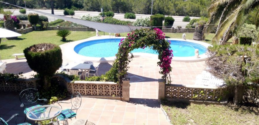 Sea View House with Swimming Pool in Santa Ponsa