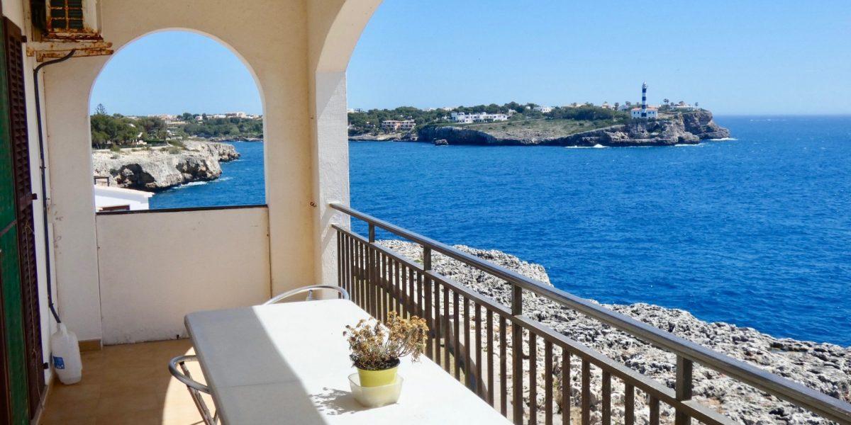 Bonito Apartamento Frente al Mar en Portocolom