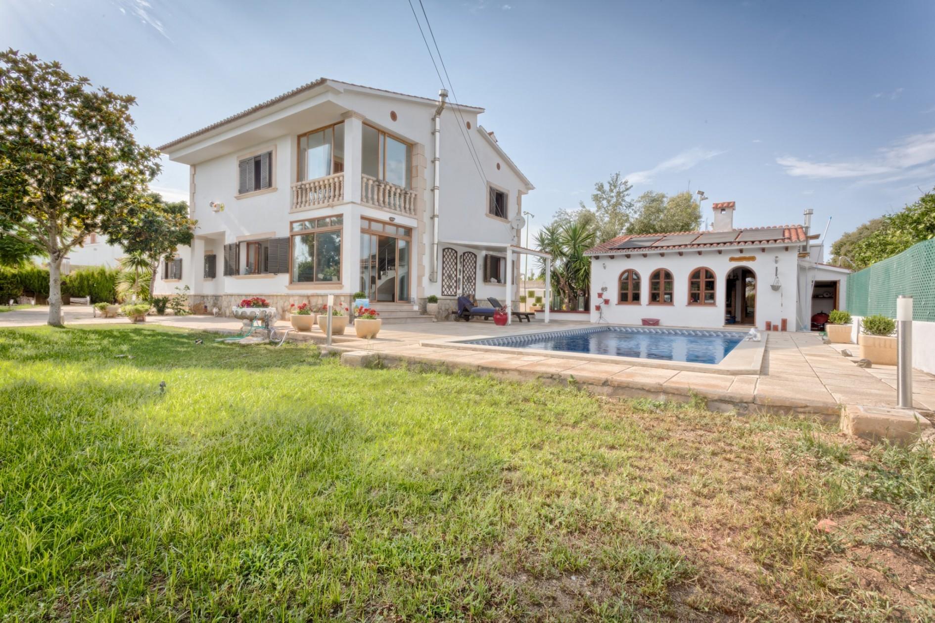 Casa Extraordinaria con Piscina en Son Sardina